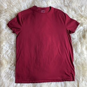Banana Republic Shirts - TWO SOFT RED Tees